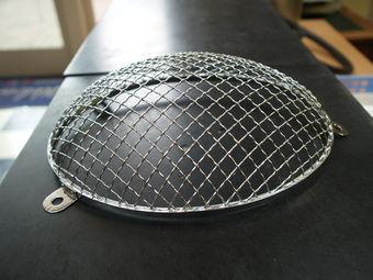 Chrome headlight grille 356