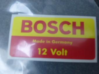 KLEBESCHILD BOSCH 12V 911 65-68