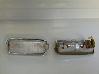 INTERIOR LIGHT CHROMED BEZEL BT6-C+911 - REF.: 901.632.103.00