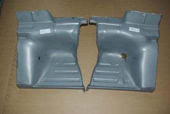 Coquille en métal pour sièges arrière 911.