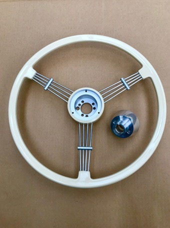 REPRODUCTION BANJO STEERING WHEEL PORSCHE 356A