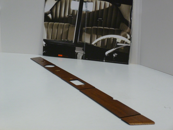 Dashbord sierlijstset hout 1965-1966 SWB (korte wielbasis)