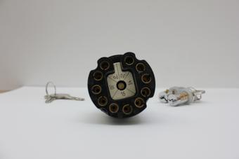 CONTACTSLOT / DEURCYLINDER SET 4 SLEUTELS 356